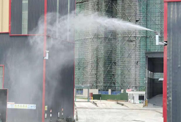四川工地扬尘喷雾设备