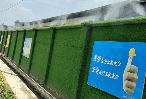 四川扬尘喷雾设备-围挡喷雾