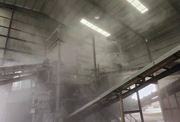 四川料场喷雾降尘设备厂家