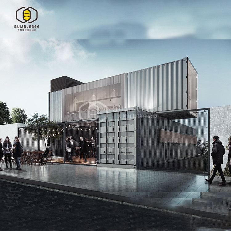 成都集装箱办公楼综合体打造定制设计提供解决方案