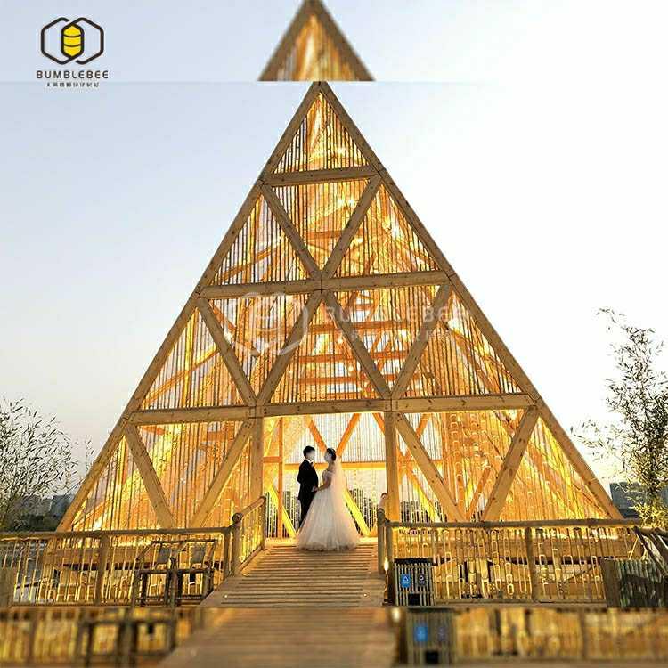 网红三角形房屋定制
