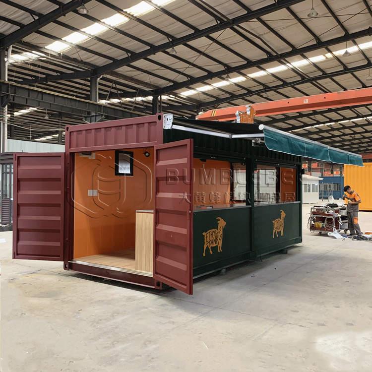 出口美国集装箱咖啡厅