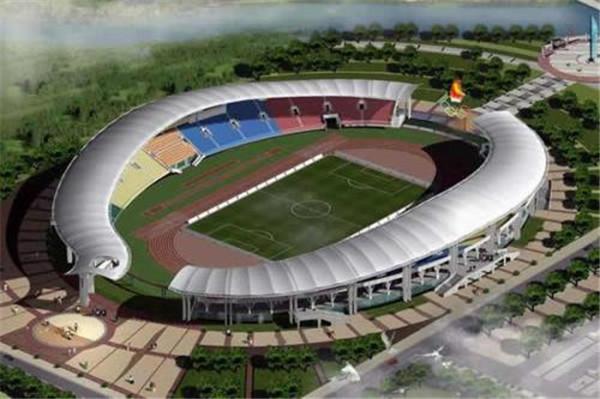 膜结构体育场完工图
