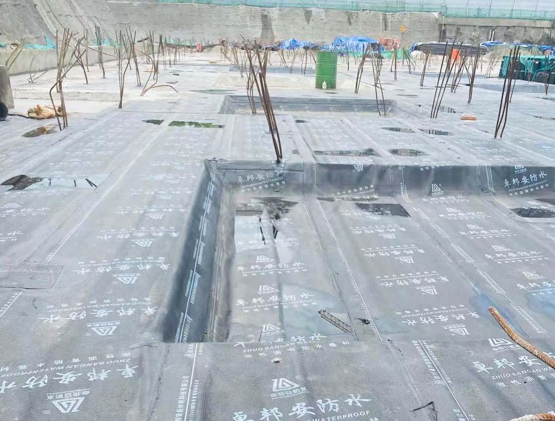 悦来会展中心北辰四期地块防水工程