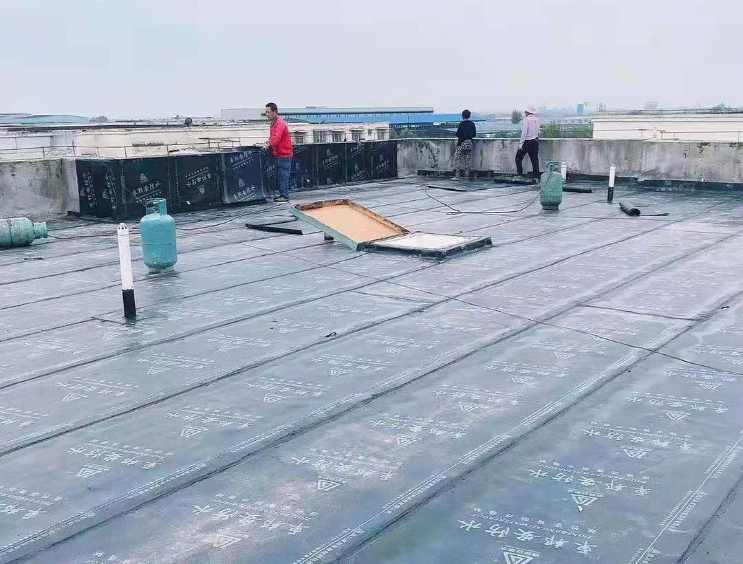 德阳市银河小区22栋防水施工