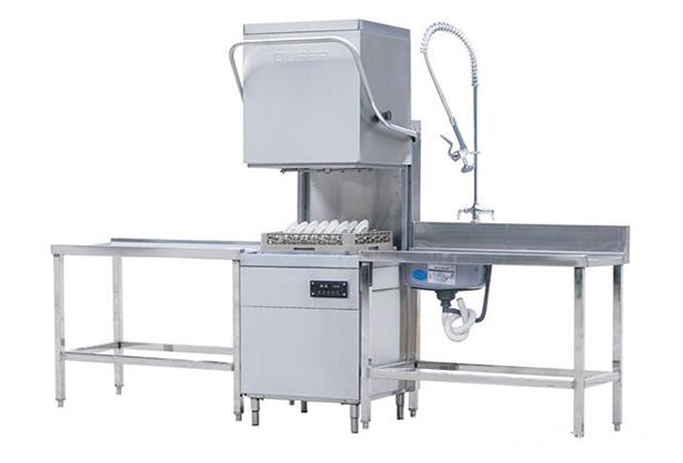 四川食堂设备厂家-揭盖式洗碗机