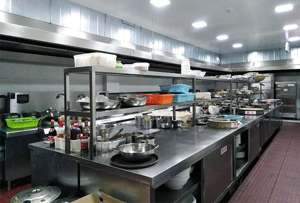 四川酒店厨房设备定制成功案例