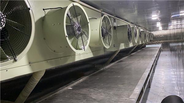 安康石泉速冻隧道