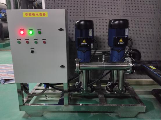 渭南建国饭店用 30T/h 超滤净化设备+变频供水设备