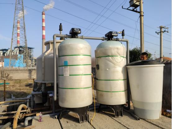 西安某防腐材料厂 地下水除铁+软化设备