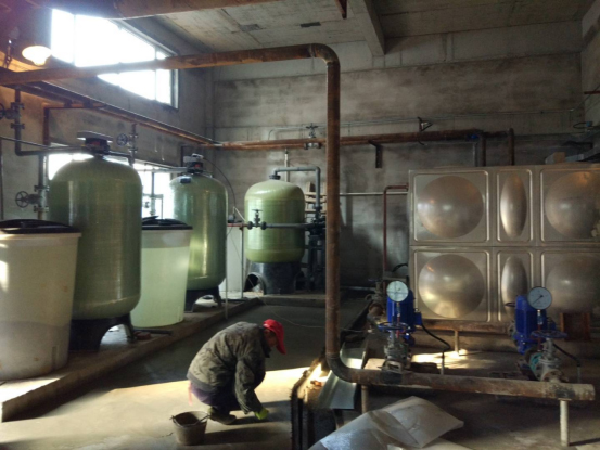 泾川县热力供暖公司 软化水+ 化学除氧设备