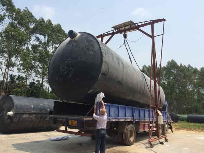 太原锦泰海利玻璃钢化粪池用在农村的优势