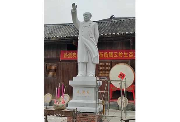 四川汉白玉雕像定制成功案例
