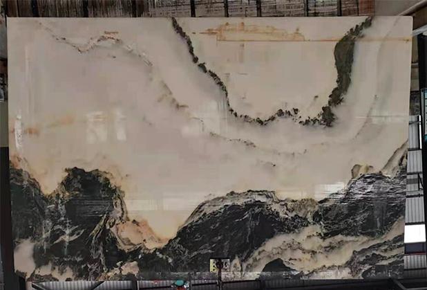 天然山水画板