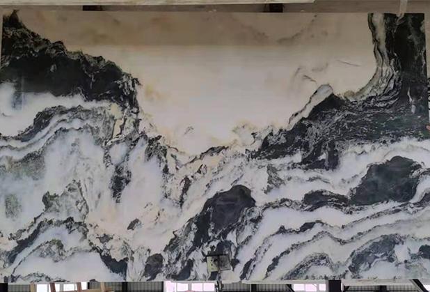 怎样避免四川汉白玉山水画石材病变?