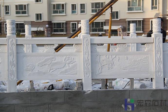 四川汉白玉栏杆