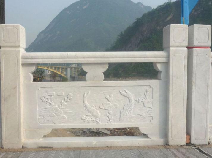 四川汉白玉栏杆仿护栏的施工工艺