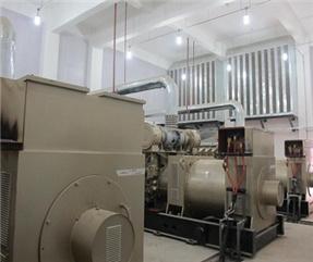 西安柴油发电机房降噪施工
