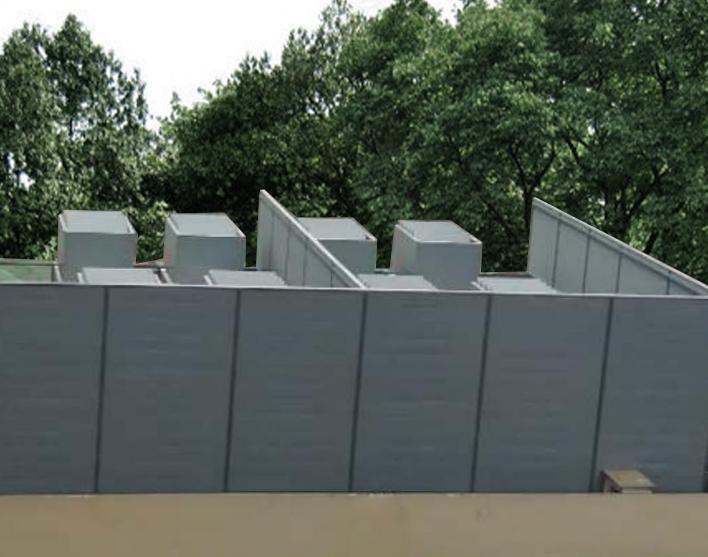 大融城楼顶冷去塔空调机组噪音治理
