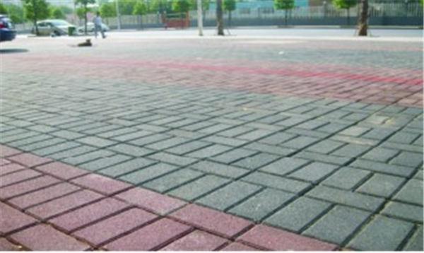 硅砂透水砖铺设