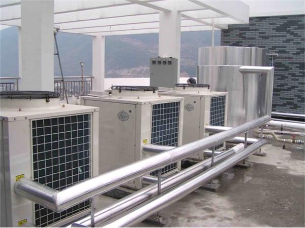 空气能热泵冷热水采暖项目