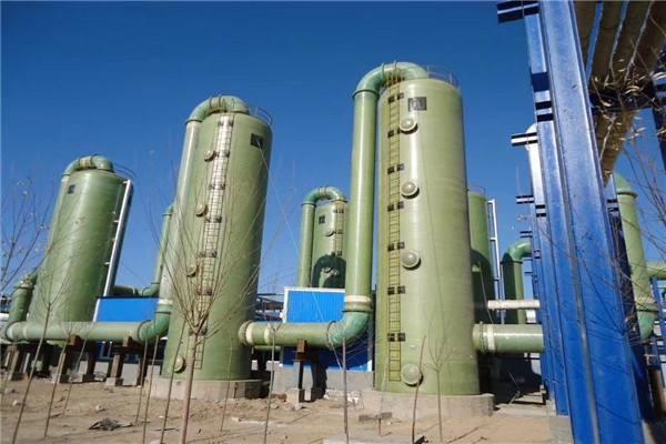 陕西脱硫塔是对工业废气进行脱硫处理的塔式设备