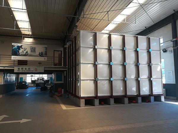 你知道玻璃钢消防用水箱的作用和储水水位要求吗