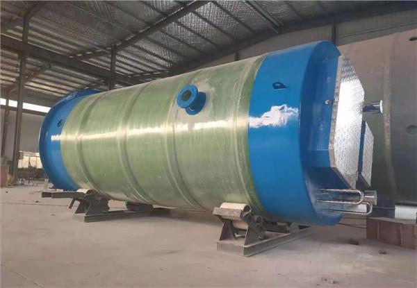 陕西玻璃钢一体化泵站施工