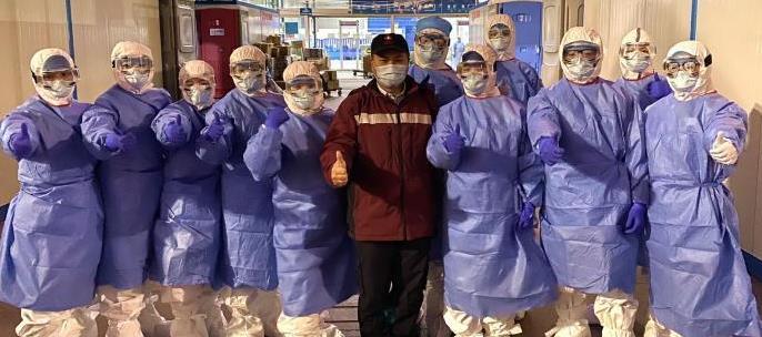 湖北选派专 家支持香港方舱医院