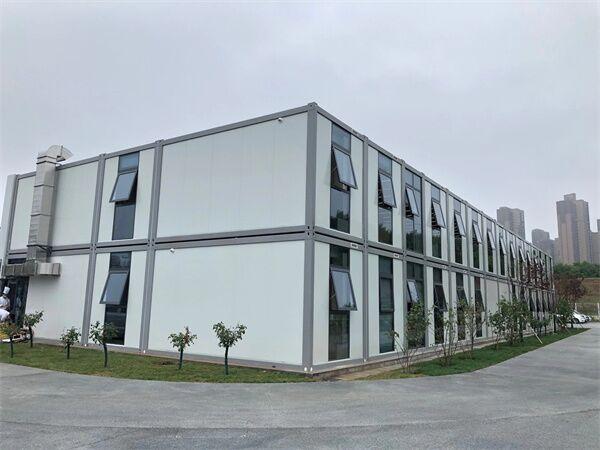 曲江建设集团电竞办公楼两层打包箱项目