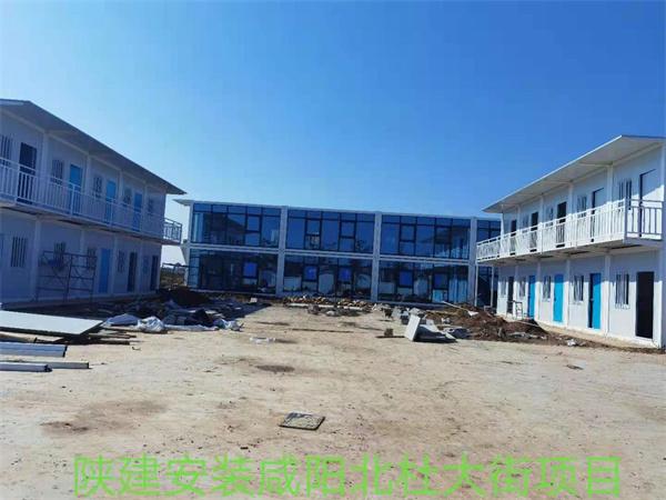 陕建安装建设集团北杜大街50套打包箱项目