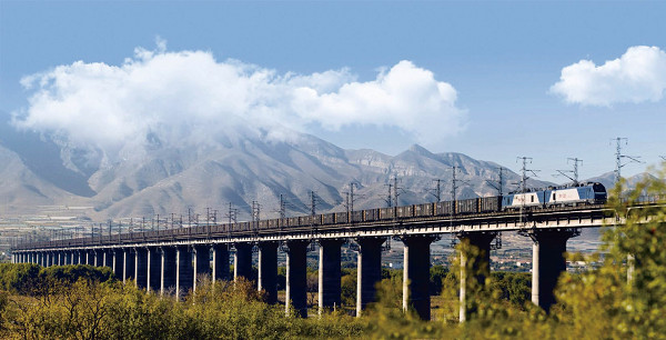 中南部铁路通道