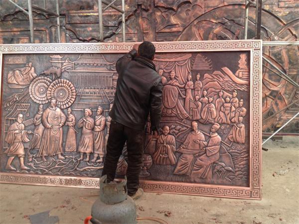 铜浮雕制作案例