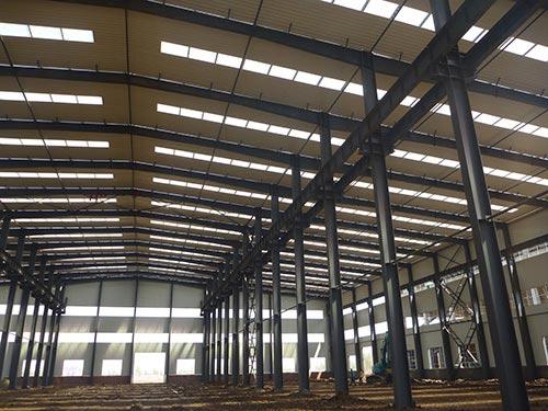 呼市钢结构厂房