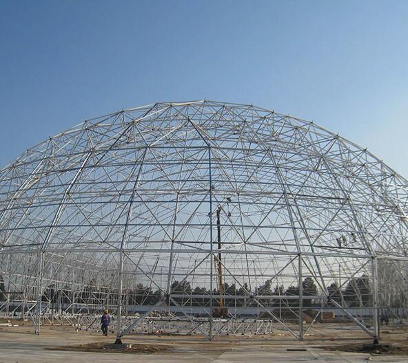 球形网架安装