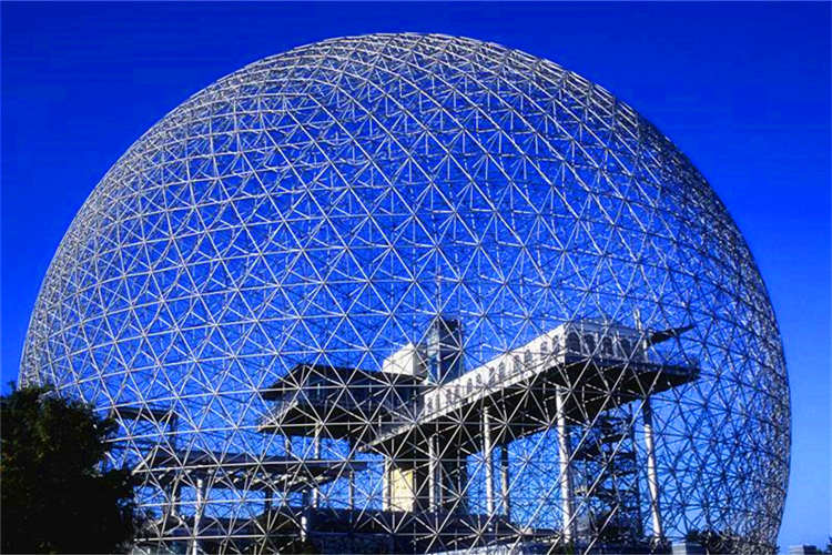 球形网架钢结构