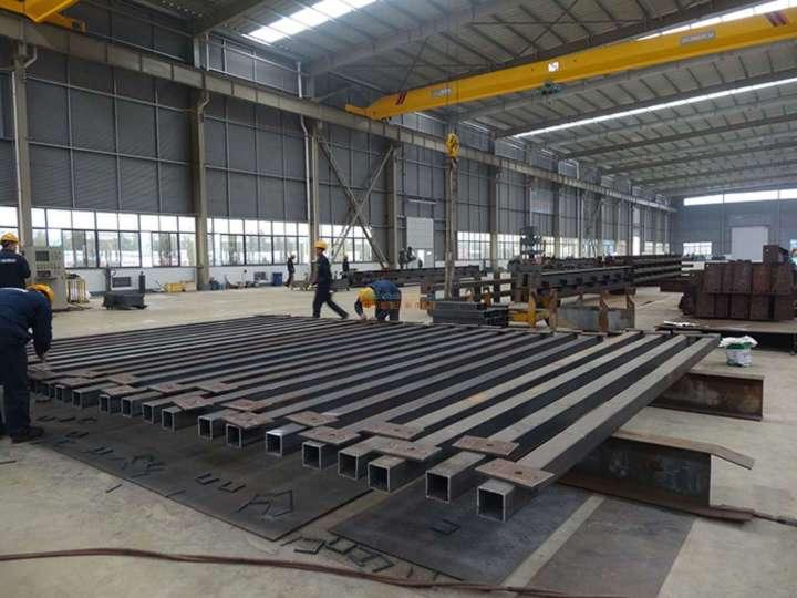 鑫硕钢构邀您了解正确的钢结构加工制作方法,你是这样做的吗?