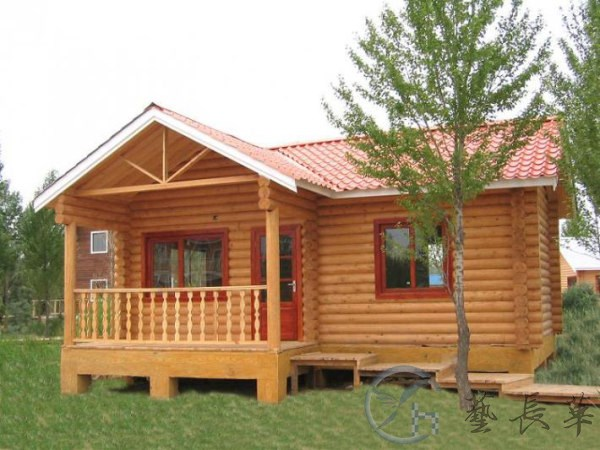 陕西景区小木屋