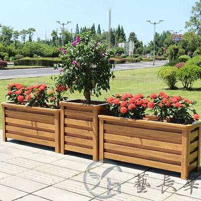 木结构花箱
