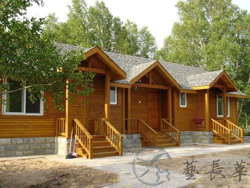 陕西轻体木结构房屋