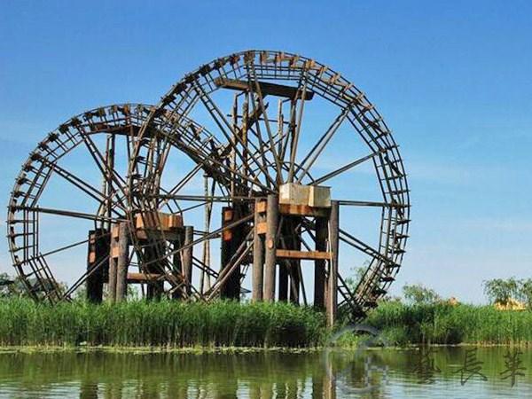 陕西景观水车