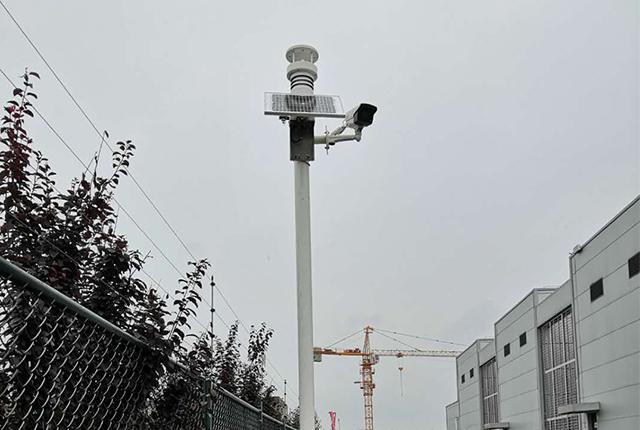 空气质量站现场应用图片