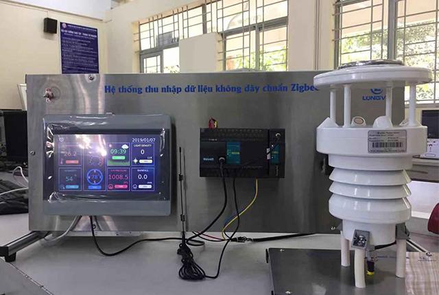 七要素越南客户农业气象监测应用图片