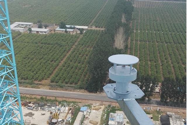 测风塔风速风向监测系统解决方案