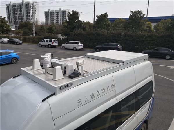 六要素气象传感器无人机自动机场气象监测现场应用