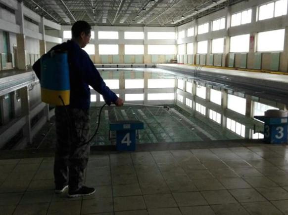 张家口泳池消毒服务