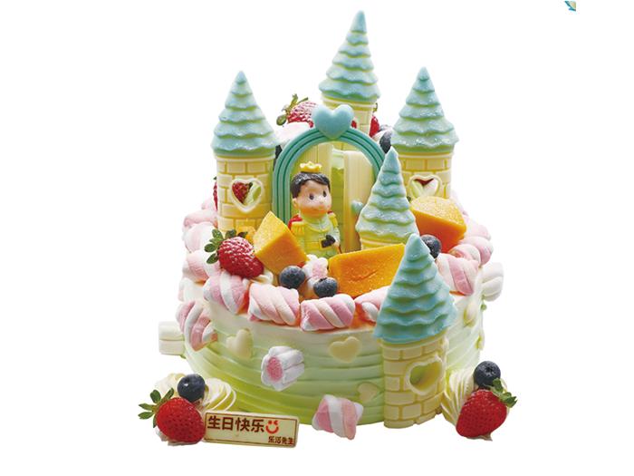 欢乐城堡蛋糕