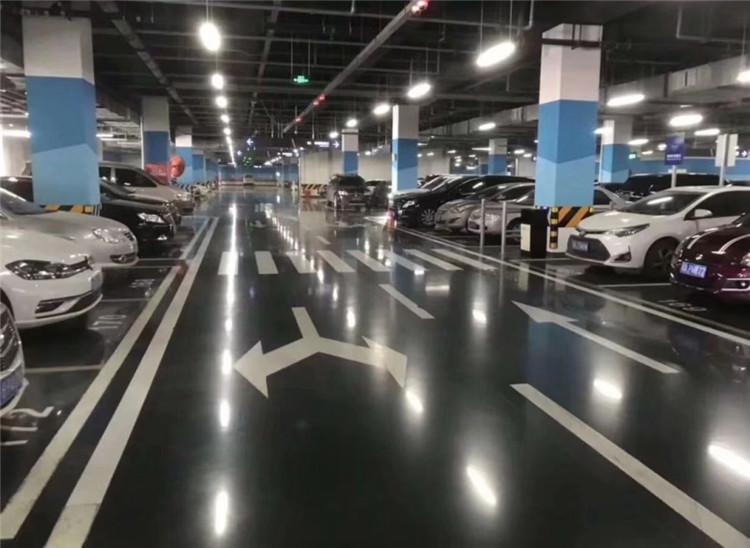 地下停车场固化地坪工程案例