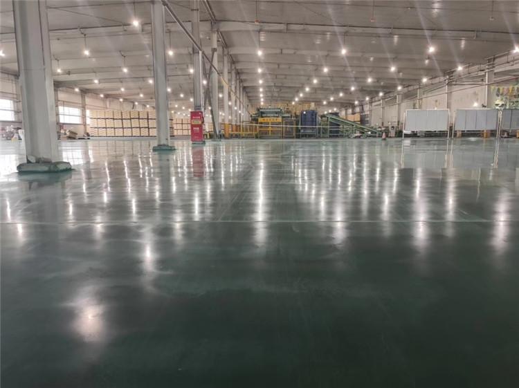 固化地坪翻新施工案例