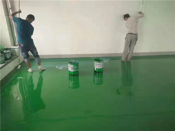 刚涂完的树脂地坪漆无光泽,怎么办?